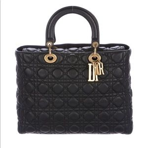 ISO .. Lady Dior Large Quilted Cannage